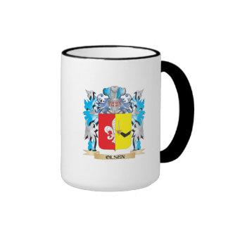 Olsen Coat of Arms - Family Crest Coffee Mug