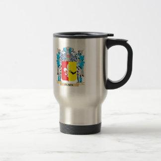 Olsen Coat of Arms - Family Crest 15 Oz Stainless Steel Travel Mug