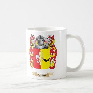 Olsen Coat of Arms Family Crest Coffee Mug