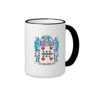 Olsen Coat of Arms - Family Crest Ringer Mug