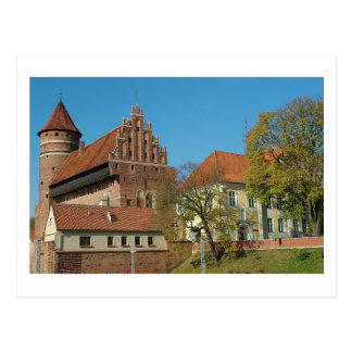 Olsztyn Mdieval Castle III - Postcard