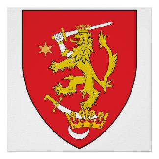 oltenia historic romania armorial chevron symbol l