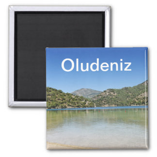 Oludeniz beach in Turkey Magnet