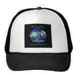 Olympas Starry Night Trucker Hats