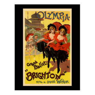 Olympia Grand Ballet Brighton Post Card