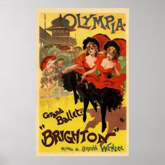 Olympia Grand Ballet Brighton Poster