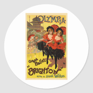 Olympia Grand Ballet Brighton Stickers