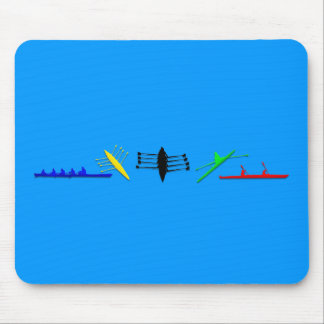 Olympian Mens Athlete Rowing Womens Sports Mouse Mat