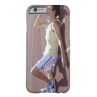 Olympic 2012 Athlete drinking after race Barely There iPhone 6 Case