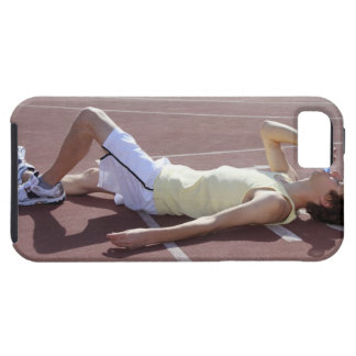Olympic 2012 Athlete drinking after race Case For The iPhone 5