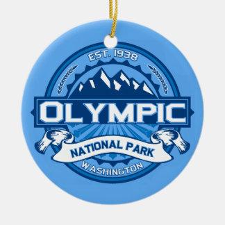 Olympic Cobalt Christmas Ornament