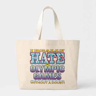 Olympic Games Hate Face Jumbo Tote Bag