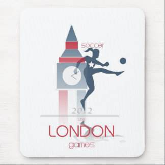 Olympic Games: Soccer Mouse Pad