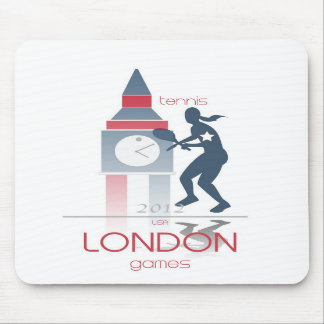 Olympic Games: Tennis Mouse Pad
