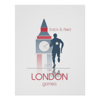 Olympic Games: Track & Field Poster