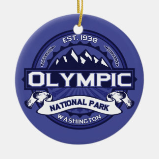 Olympic Midnight Christmas Ornament
