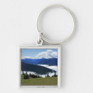 Olympic Misty Mountains Keychain