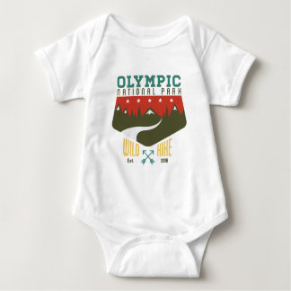 Olympic National Park Baby Bodysuit
