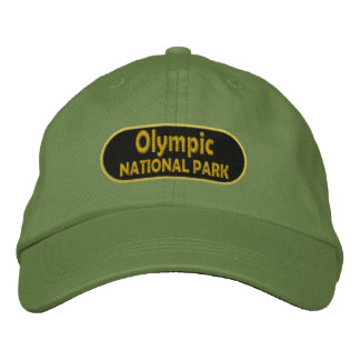 Olympic National Park Embroidered Baseball Caps