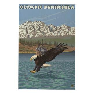 Olympic Peninsula, WashingtonFishing Eagle Wood Wall Decor
