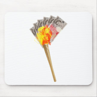 Olympic Shame Torch Mouse Pad