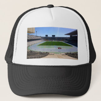 Olympic Stadium, Barcelona, Spain Trucker Hat