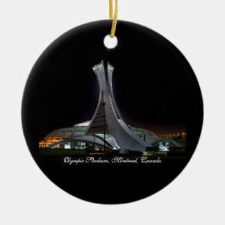 Olympic Stadium, Canada - Circle Ornament