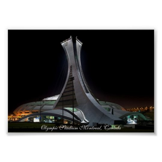 Olympic Stadium Montreal, Canada - Poster Print