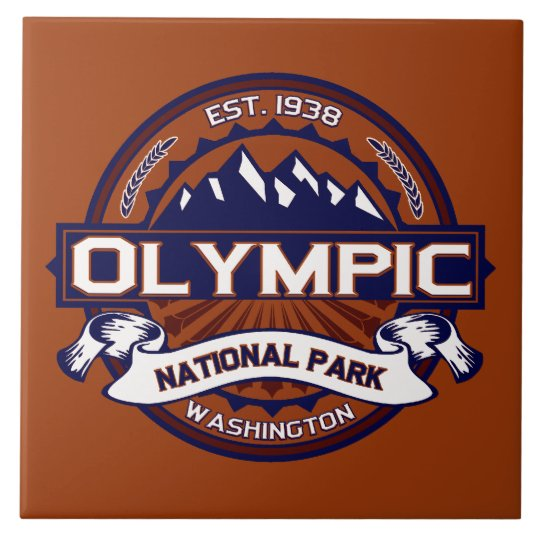 Olympic Vibrant Large Square Tile