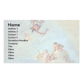Olympus By Tiepolo Giovanni Battista Pack Of Standard Business Cards