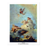Olympus By Tiepolo Giovanni Battista Postcards