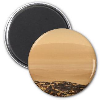 Olympus Mons 6 Cm Round Magnet