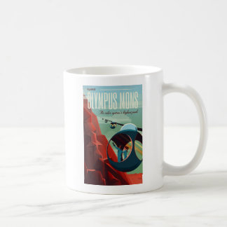 Olympus Mons Martian Space Tourist Basic White Mug