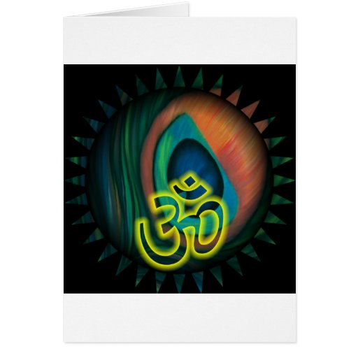 Om 3 greeting cards