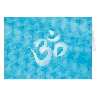 Om / Aum Greeting Card