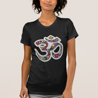 Om Aum Namaste Yoga Symbol Tee Shirt