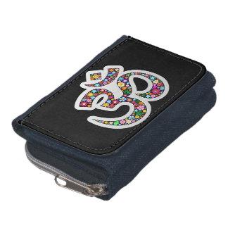 Om Aum Namaste Yoga Symbol wallet