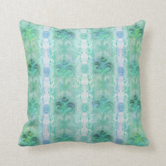 om aum pattern Cushion