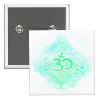 om aum symbol Badge