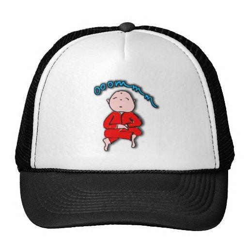 Om Boy in Red Meditation Hats