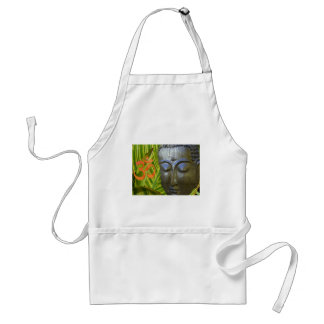 Om Buddha in the total universe of Buddhahood Standard Apron
