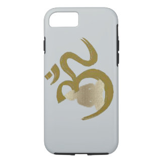 Om-budh Budha Om Lotus Spiritual apple iphone case