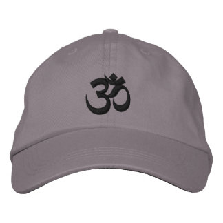 Om Cap Embroidered Hats