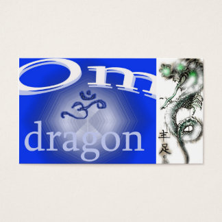 OM DRAGON BUSINESS CARD