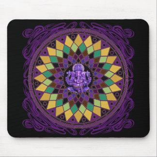 Om Ganesh Mandala Mousepad