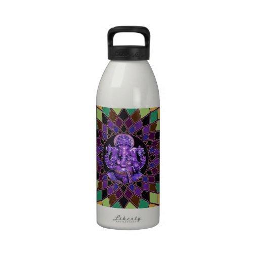 Om Ganesh Mandala Reusable Water Bottles
