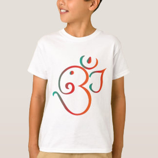 Om-ganpati-green-orange T-Shirt