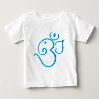 Om-ganpati-turqoise Baby T-Shirt