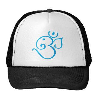 Om-ganpati-turqoise Hats