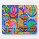 OM Healing Sign by Navin J... Mousepads